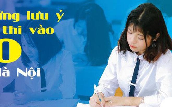 Những lưu ý khi thi vào 10 ở Hà Nội