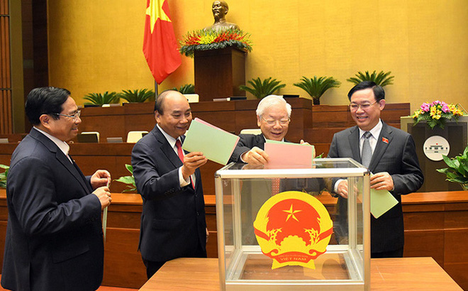 Danh sách 17 Ủy viên Bộ Chính trị, 4 Bí thư Trung ương Đảng trúng cử đại biểu Quốc hội khóa XV