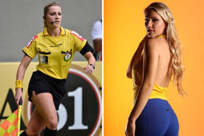Nhan sắc nóng bỏng của nữ trọng tài được đồn sẽ bắt chính trận Việt Nam - Malaysia - Ảnh 5.