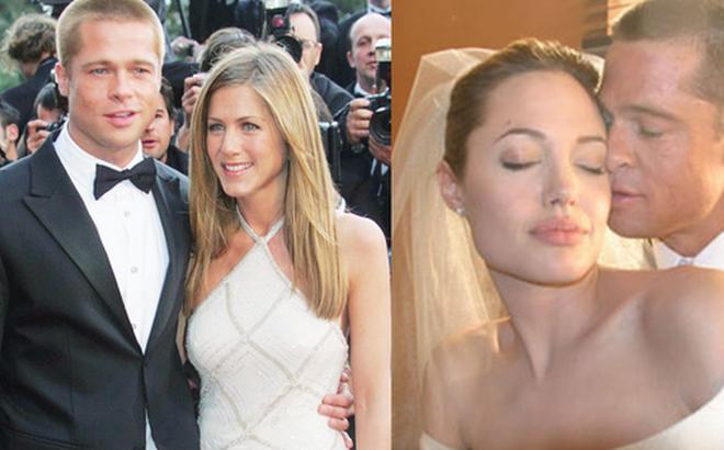 """Hôn nhân đầu tiên của Brad Pitt: Tỏ tình trên thảm đỏ rồi toang vì """"tiểu tam""""Angelina, từ thù thành bạn với vợ cũ sau 15 năm"""