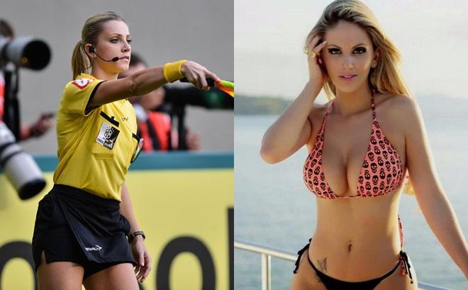 Nhan sắc nóng bỏng của nữ trọng tài được đồn sẽ bắt chính trận Việt Nam - Malaysia