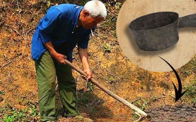 Lão nông đào được cái gáo trong sân, mang về dùng suốt 20 năm - Chuyên gia sửng sốt: Sao bác dám dùng?