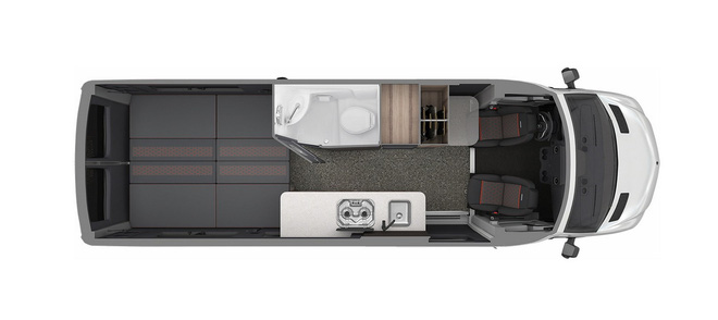 Mercedes-Benz Sprinter 3500 hóa thành nhà di động sang trọng cho giới thượng lưu mê phượt - Ảnh 6.