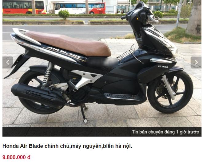 Xe tay ga Honda Air Blade giá chưa đến 10 triệu đồng rẻ giật mình - Ảnh 2.