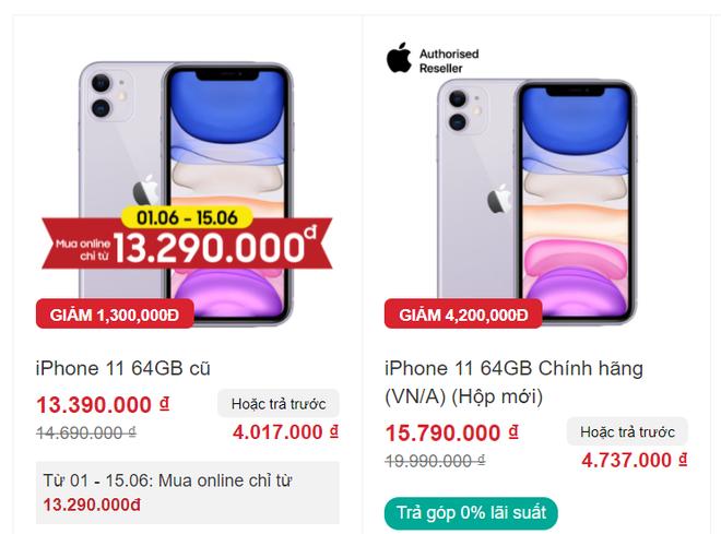 iPhone 11 giảm giá bay nóc, loạt điện thoại iPhone SE, iPhone XR bán mức cực êm ví - Ảnh 2.