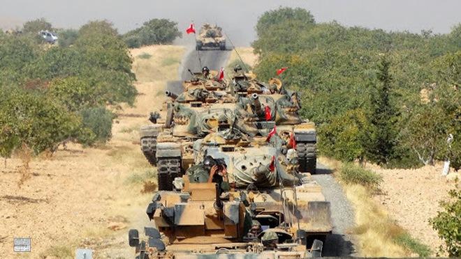 QĐ Nga & Syria ồ ạt tấn công hủy diệt, tống quân Thổ vào hố sâu tuyệt vọng - Bờ biển Anh bị tàu ngầm Nga áp sát, sắp có biến? - Ảnh 1.