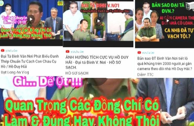 Bị ghép giọng can thiệp vụ án Hồ Duy Hải, đại tá Đinh Văn Nơi nói gì ? - Ảnh 1.
