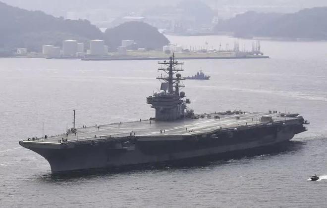 Nhóm tác chiến tàu sân bay Mỹ vào biển Đông - ảnh 2