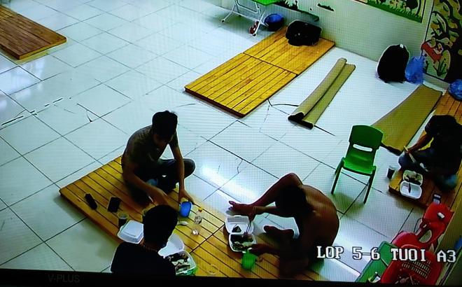 Đang đi c á c h l y tập trung, 3 người đàn ông vẫn tụ tập uống r ư ợ u ở Bắc Giang
