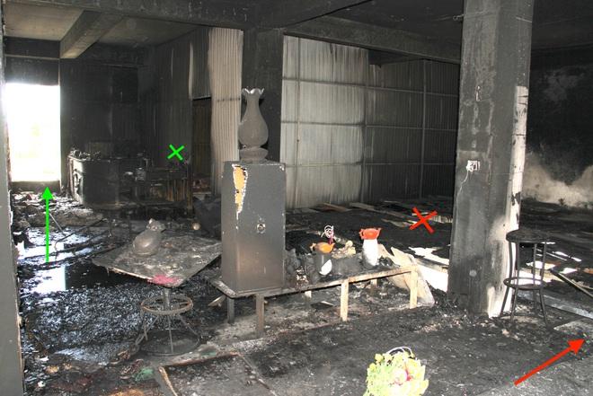 Vụ cháy phòng trà 6 người chết ở Nghệ An: Vì sao các nạn nhân không thoát được ra ngoài? - Ảnh 11.