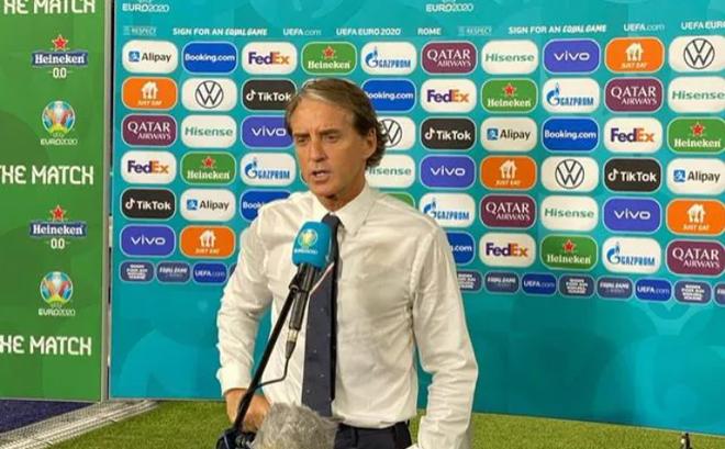Italia giật vé vào vòng 1/8 EURO, HLV Mancini nói gì?