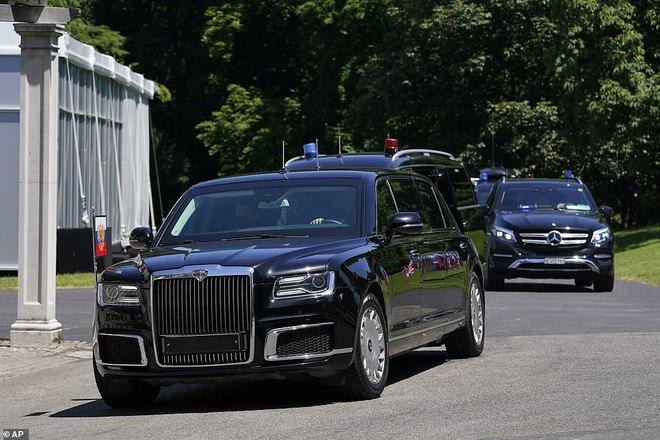 """Siêu xe """"Quái thú"""" của ông Biden và """"Rolls Royce Nga"""" của ông Putin: Xe nào vượt trội hơn? - ảnh 7"""