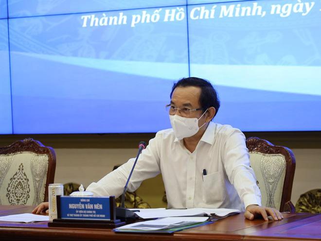 Quận Bình Tân thiết lập vùng phong tỏa từ 0 giờ ngày 20/6; Bí thư Nguyễn Văn Nên đặt vấn đề nâng cao mức giãn cách xã hội tại TP.HCM - Ảnh 1.