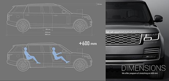 Chiếc Range Rover của Quốc vương Campuchia – limo sang trọng chống đạn, chống lựu đạn - Ảnh 1.