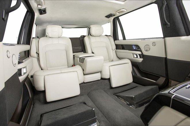 Chiếc Range Rover của Quốc vương Campuchia – limo sang trọng chống đạn, chống lựu đạn - Ảnh 2.