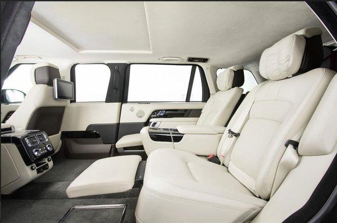 Chiếc Range Rover của Quốc vương Campuchia – limo sang trọng chống đạn, chống lựu đạn - Ảnh 3.
