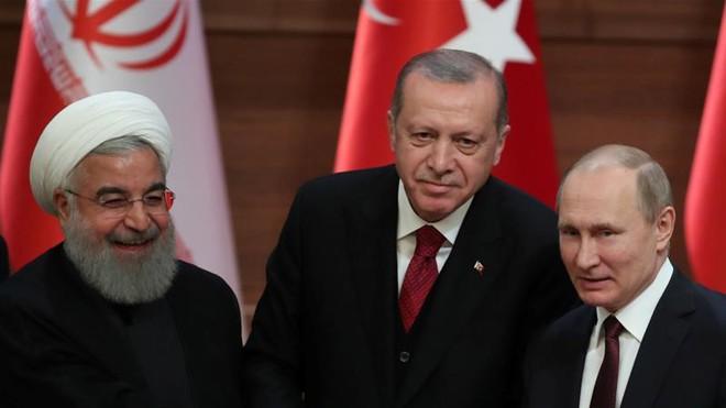 Cần gì một 'liên minh đổ nát', Nga-Thổ-Iran 'lạt mềm buộc chặt' vẫn ngự trị Syria? - ảnh 2