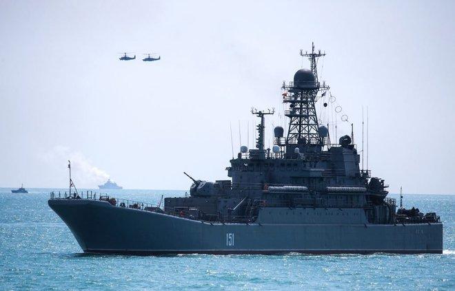 Giăng thiên la địa võng, Nga bóp nghẹt Ukraine trên Biển Đen - ảnh 1