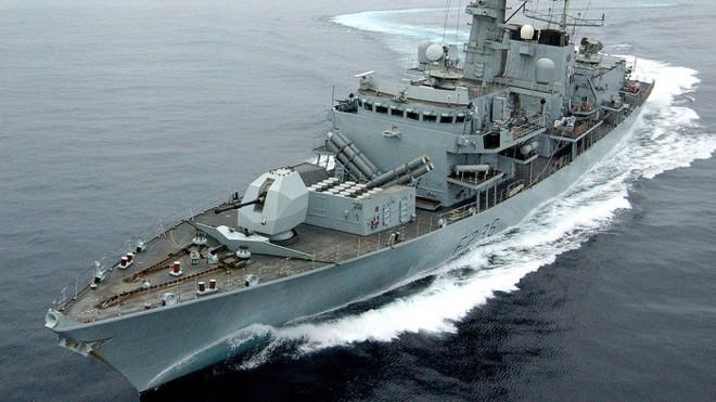 Tàu rải mìn của Hải quân Ba Lan - ảnh tư liệu FAN.