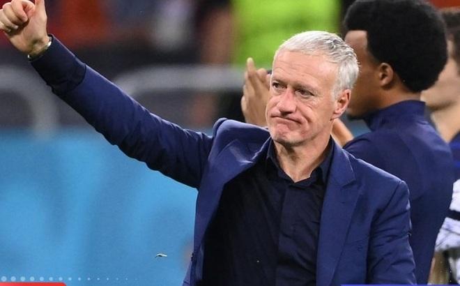 HLV Deschamps: 'Thua trên loạt penalty là điều tàn nhẫn với ĐT Pháp'