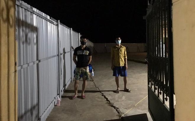 Hai thanh niên trốn khỏi khu cách ly tập trung ở Bắc Giang