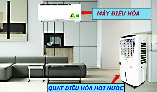Nên mua quạt hơi nước hay điều hòa: Bạn sẽ hết phân vân khi biết điều này! - Ảnh 2.