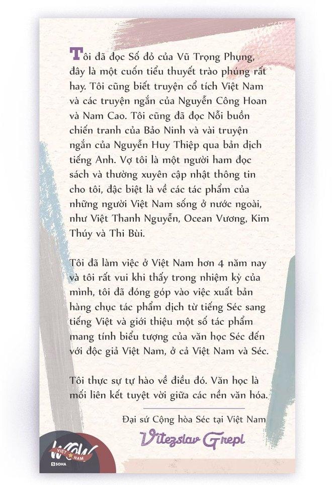 Đại sứ Cộng hòa Séc tại Việt Nam: Tôi không ngờ số phận bi thảm của Lưu Quang Vũ và Xuân Quỳnh sẽ tác động sâu sắc đến mình như vậy - Ảnh 6.