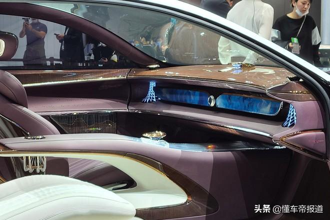 Ô tô Trung Quốc lắp hẳn đèn chùm như khách sạn 5 sao, quyết vượt mặt Rolls Royce có bầu trời sao - Ảnh 5.