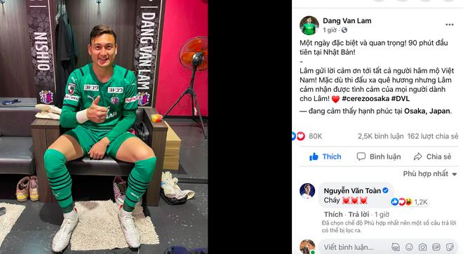 Các cầu thủ ĐT Việt Nam ùa vào bài đăng của Văn Lâm, trợ lý thầy Park tiết lộ điều đặc biệt từ UAE - Ảnh 1.