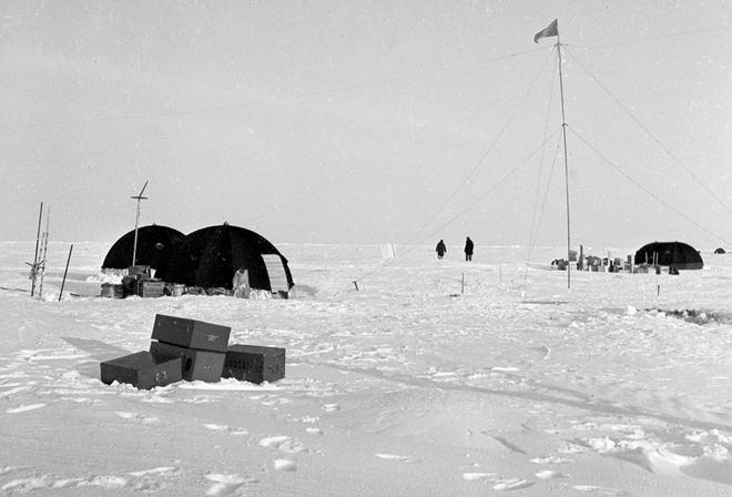 Mỹ tìm kiếm các trạm nghiên cứu Liên Xô bỏ hoang ở Bắc Cực - Ảnh 1.