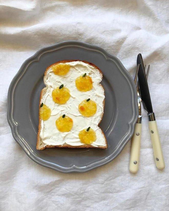 Xuýt xoa những lát bánh mì sandwich đẹp như tranh của cô gái Nhật Bản - Ảnh 1.
