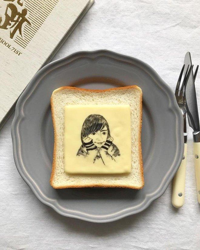 Xuýt xoa những lát bánh mì sandwich đẹp như tranh của cô gái Nhật Bản - Ảnh 3.