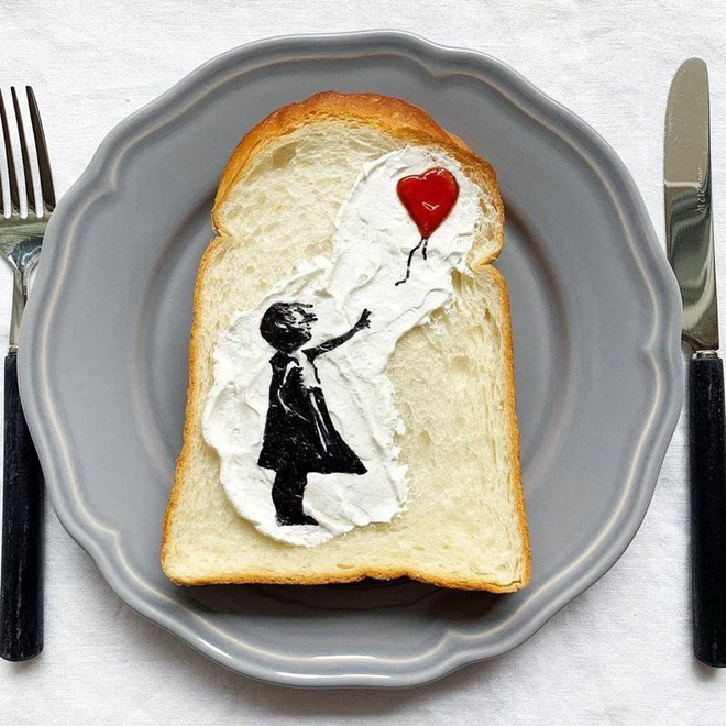 Xuýt xoa những lát bánh mì sandwich đẹp như tranh của cô gái Nhật Bản - Ảnh 4.