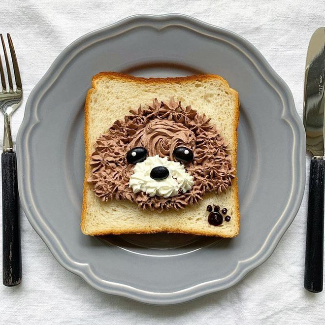 Xuýt xoa những lát bánh mì sandwich đẹp như tranh của cô gái Nhật Bản - Ảnh 9.