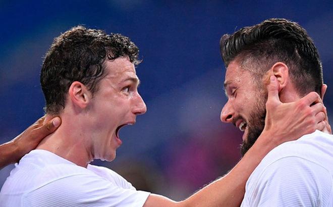 Giroud lập cú đúp trong ngày Benzema dính chấn thương, Pháp thắng trận giao hữu cuối trước Euro