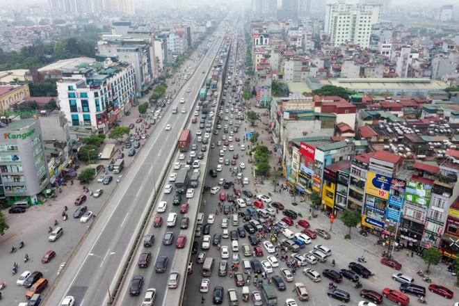 Hà Nội sắp có đường Vành đai 4 huyết mạch với tổng mức đầu tư 135.000 tỷ đồng - Ảnh 1.