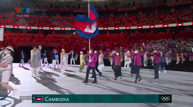 TRỰC TIẾP Lễ khai mạc Olympic 2020: VĐV Việt Nam sẵn sàng cho lễ diễu hành - Ảnh 4.