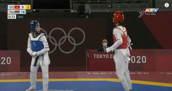 Thi đấu đầy nỗ lực, VĐV Việt Nam suýt tạo nên cơ địa chấn trước người Thái tại Olympic - Ảnh 1.