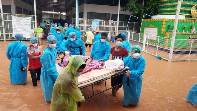 Thảm họa chồng chất ở Myanmar: Đảo chính, COVID-19 và mưa lũ - Ảnh 3.