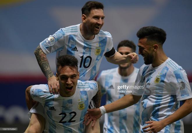 Messi thể hiện bản lĩnh, Argentina lọt vào chung kết Copa America sau loạt 11m cân não - Ảnh 2.