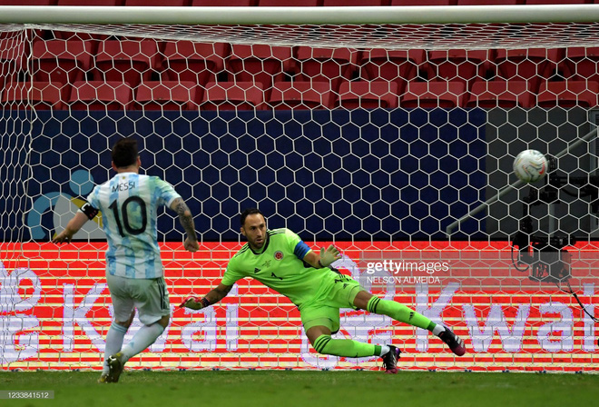 Messi thể hiện bản lĩnh, Argentina lọt vào chung kết Copa America sau loạt 11m cân não - Ảnh 4.