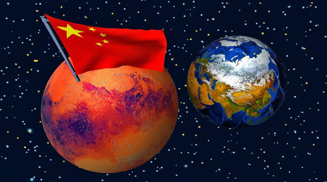 Tham vọng chiếm lĩnh không gian của Trung Quốc: Căn cứ trên sao Hỏa, đội tàu chở hàng vũ trụ, thành phố ngoài hành tinh và thang máy lên trời - Ảnh 1.