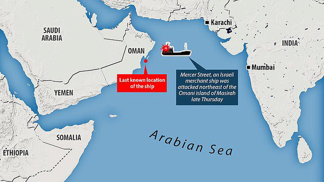 Iran tấn công tàu dầu Israel, Mỹ khẩn cấp ra tay - Trụ sở lực lượng Liên hợp quốc ở Herat hứng mưa hỏa lực - Ảnh 1.