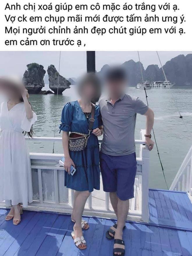 Nhờ chỉnh ảnh du lịch Hạ Long, đôi vợ chồng dở khóc dở cười khi nhận sản phẩm - Ảnh 1.