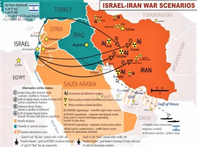 """Bên bờ vực chiến tranh: Israel chuẩn bị tấn công đồng loạt các cơ sở hạt nhân của Iran - LHQ cảnh báo khẩn """"tình hình rất nguy hiểm"""" - Ảnh 1."""