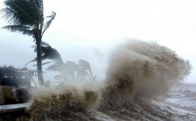 Bão số 5 gây mưa to nhiều nơi tại Quảng Ngãi