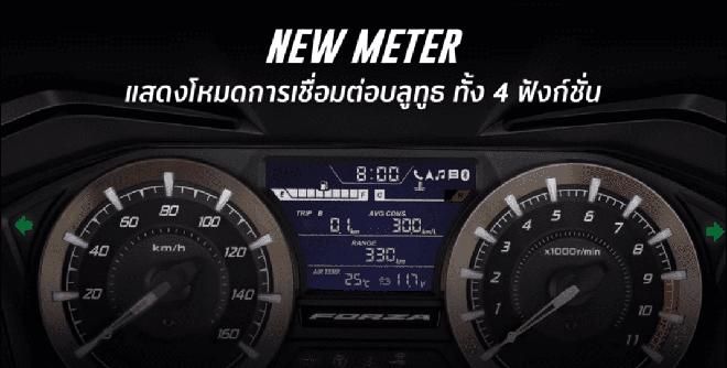 Xe máy Thái chặt đẹp Honda SH 350i, tích hợp điều khiển bằng giọng nói, bình xăng 11,7L - Ảnh 9.