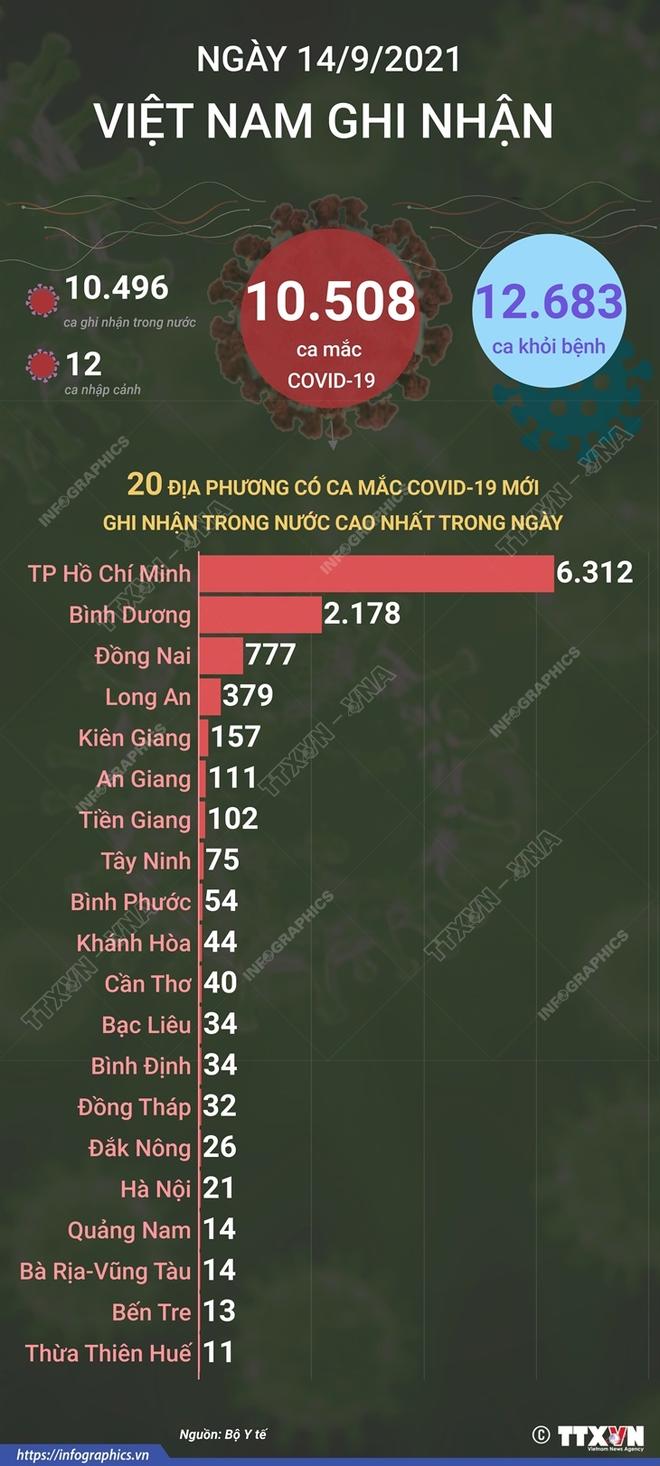 Việt Nam có tổng 635.055 ca mắc Covid-19;  - Ảnh 1.