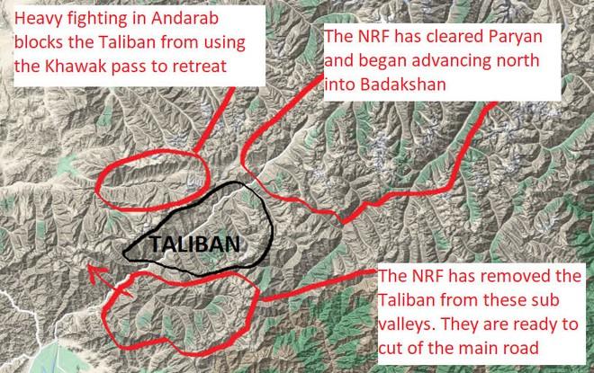 NÓNG: TT Biden bị máy bay lạ uy hiếp, F-16 lập tức xuất kích đánh chặn - Phe nổi dậy sắp hất cẳng Taliban tại 1 tỉnh nữa của Afghanistan! - Ảnh 4.