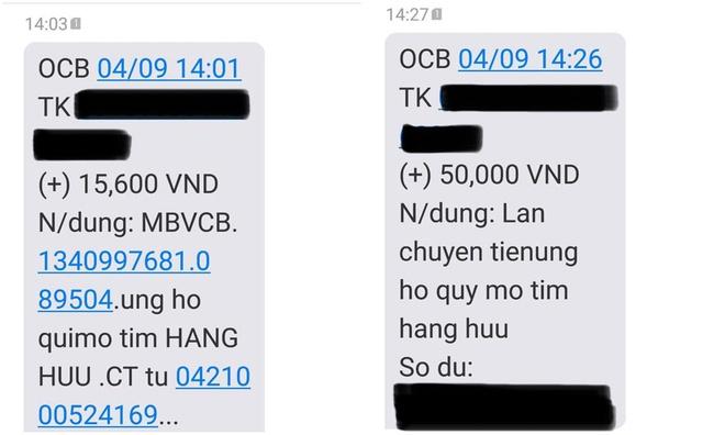 Quỹ mổ tim của bà Nguyễn Phương Hằng nhận được giao dịch bất thường, CEO lập tức tuyên bố: Tiền tôi không cần, yêu thương tôi nhận - Ảnh 1.